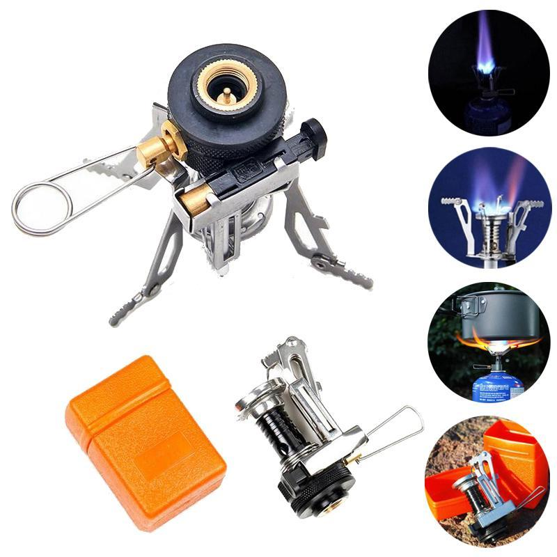 Fordable mini camping gas cooker stove