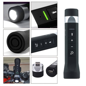 4 in 1 Wireless Flashlight and Speaker