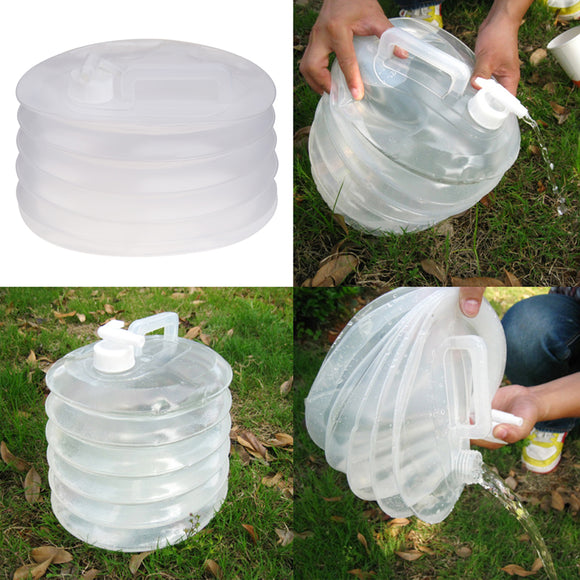 Collapsible 10L Water Bucket