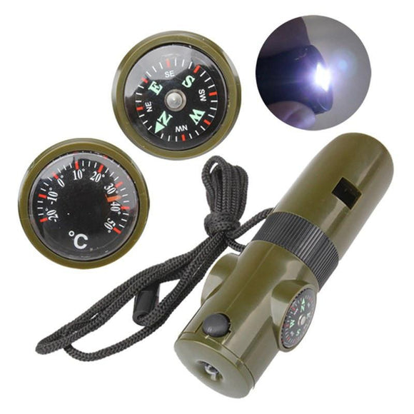 7 in 1 Multifunctional Military Survival Whistle™