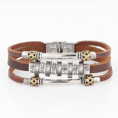 Handmade Retro Leather Bracelet