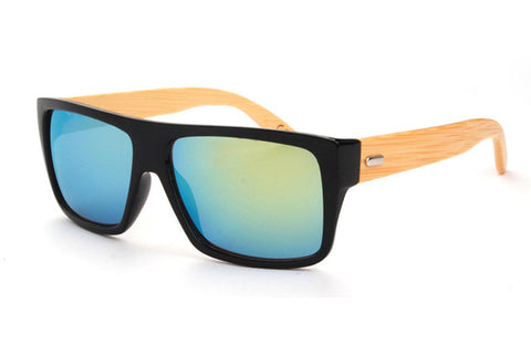 Bamboo Wood Designer Sunglasses