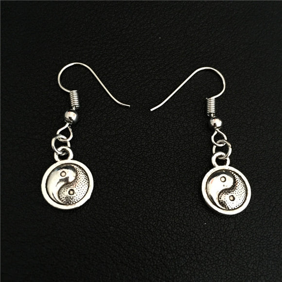 Yin Yang Dangle Earrings