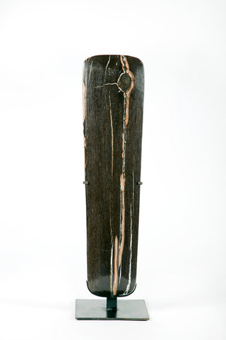 PETRIFIED WOOD SURFBOARD SCULPTURE