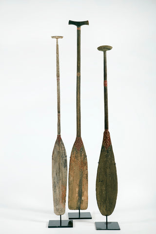 ANTIQUE DAYUNG / PADDLES (RIGHT) EACH
