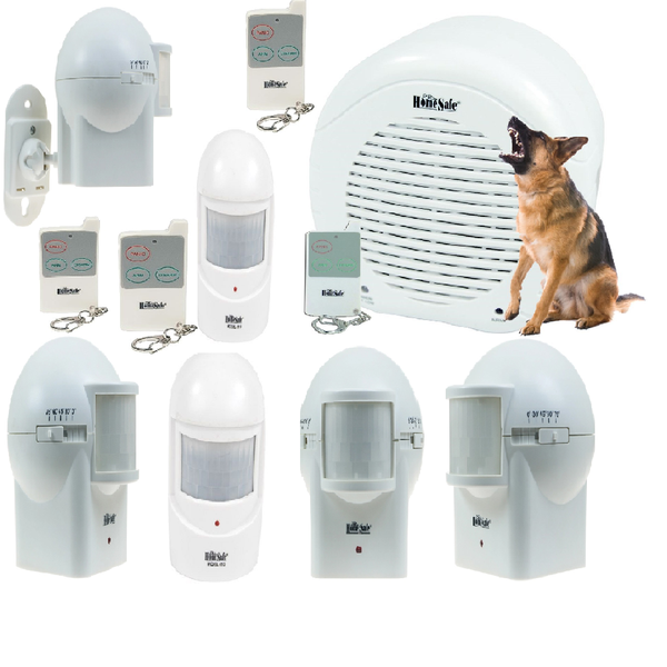 Add-On Sensors And Remote Control For Barking Dog Alarms
