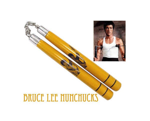 NUNCHUCKS YOUR CHOICE of FOAM PADDED FOR TRAINING, WOOD, ACRYLIC or BAG With ZIPPER