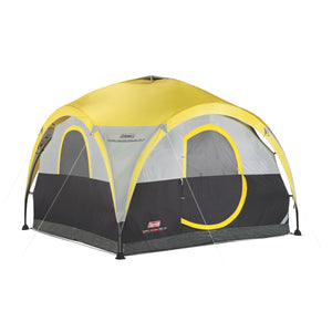 Coleman All Day 4 Person 2-For-1 Dome Tent and Shelter - Easy 15-minute Setup