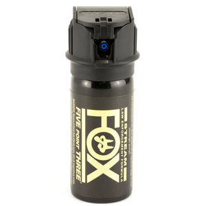 FOX LABS 5.3 Tactical Police HOT Pepper Spray Stream Flip-Top 1.5oz + Holster