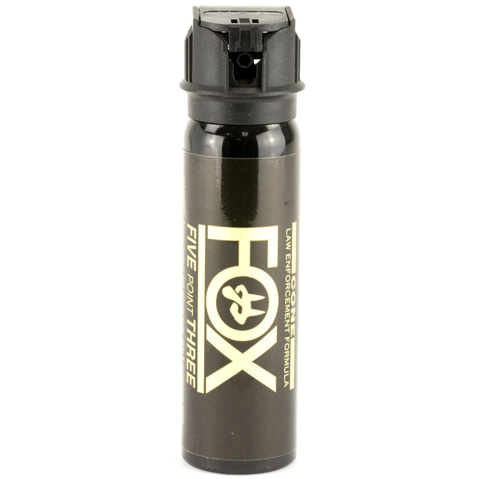 PS Fox Labs 5.3 Tactical Police 3oz Flip-Top Fog Pattern Defense Pepper Spray