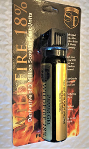 Wildfire 4oz 18% OC 3 Million SHU Pepper Spray Sticky GEL