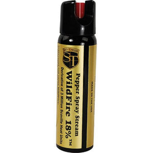 Wildfire 4oz 18% OC 3 Million SHU Pepper Spray - STREAM