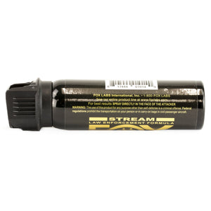 FOX LABS 5.3 HOT Tactical Police Pepper Spray Stream Flip-Top 3oz - 32FTSDB
