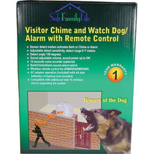 SafeFamilyLife Wireless Motion Sensor Electronic Barking Dog Alarm