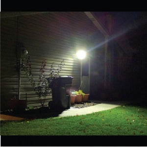 Streetwise Nightwatcher Robotic LED Security Floodlight With Camera (2018 Model)