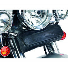 Diamond Plate 3 Piece Rock Design Genuine Buffalo Leather Motorcycle Bag Set