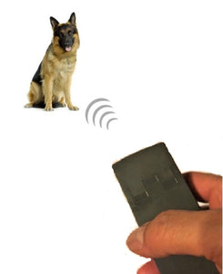 Electronic 3in1 Dog Chaser Ultrasonic Repeller Trainer & LED Flashlight w/Strobe