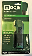 EPA Approved Mace Brand Muzzle Dog Repellent Flip-Top Pepper Spray 10 Feet Range