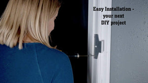 The Door Bull Security Device Designed by Police Officers - for Any Door At Home or Office