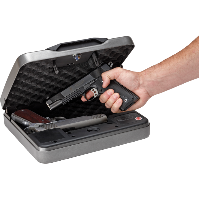 Hornady 98141 RAPiD SAFE 4800KP Keypad Or RFID Gun Safe For 2 1911 Size Pistols