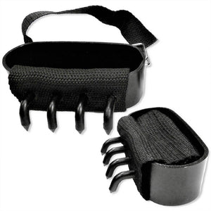 Ninja Gear 4 Piece Set Combo - Hand Claws + Climbing or Ice Walking Foot Spikes