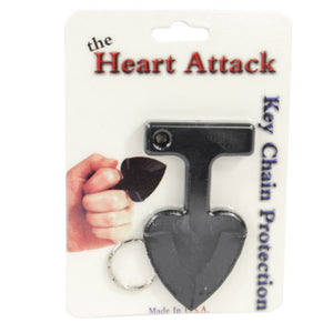 Heart Attack Keychain Defense Weapon - Made in USA