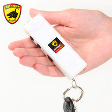 Guard Dog White Hornet Keychain Stun Gun W/400 Lumen Tactical Light