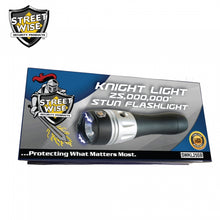 Streetwise Knight Light 25,000,000 Rechargeable Stun LED Flashlight