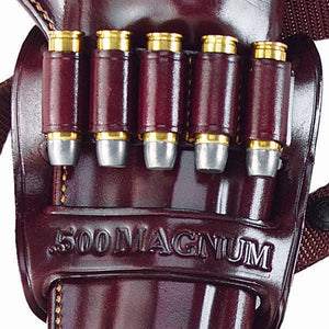 KODIAK AMMO BANDOLIER Holds 5 Rounds Fits 41MAG/44MAG/50MAG/45ACP/454/460/480/500