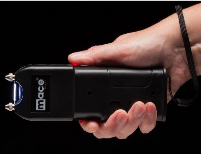 Mace Core Rechargeable 2,500,000 Volt Stun Gun With Bright LED Flashlight