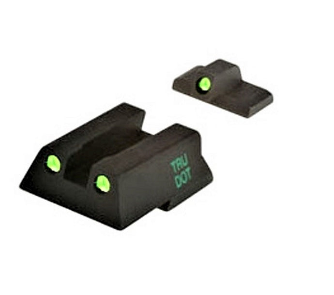 Meprolight 0115453101 Tru-Dot Self Illuminated Night Sight Fits HK45, HK45C, HK-P30, HK-P30L, Green/Green