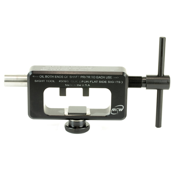 MGW Armory MGW309S Pistol Tool Rear Sight Mover For Glock With Flat Sides