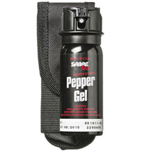 SABRE RED 18' Range 1.8oz Tactical Pepper Gel W/Flip Top, UV DYE & Belt Holster