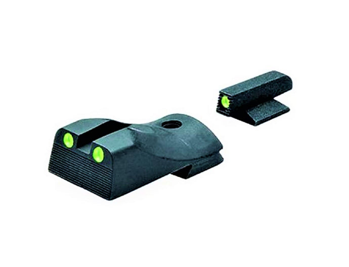 Meprolight ML11212 Tru-Dot Self Illuminated Night Sight, Slant, Fits Kimber Custom - Green/Green