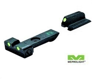 Meprolight ML20996 Tru-Dot Self Illuminated Adjustable Night Sight Fits Ruger GP100 & Super Redhawk - Green