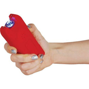 20,000,000 MultiGuard Stun Gun W/LED Flashlight & Alarm - RED