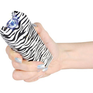 20,000,000 MultiGuard Stun Gun W/LED Flashlight & Alarm - ZEBRA