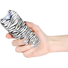 ZEBRA DEFENSE KIT - MULTIGUARD 20,000,000 Stun Gun & Fashion Wildfire Pepper Spray