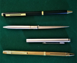 Ballpoint Tactical Pen 2.13 Inch Blade Knife-Letter Opener GOLD - BLACK - SILVER