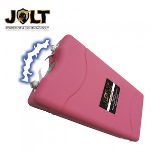 Ladies Self-Defense Kit - Powerful 46,000,000 Volts JOLT Stun Gun + Pepper Spray