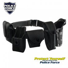 Police Force Tactical Adjustable Officer Duty Belt