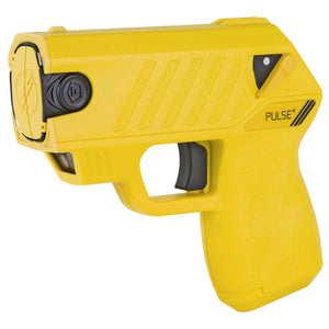 Taser Pulse PLUS w/Noonlight Emergency Response App, Battery, Laser, 2 Live Cartridges YELLOW