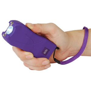 PURPLE DEFENSE KIT - Purple Runt 20,000,000 Stun Gun & Purple Pepper Spray
