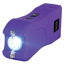 Runt 20,000,000 Volt Stun Gun With flashlight, Disable Pin & Holster - PURPLE