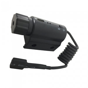 HD Mounted Gun Camera Fits Any Pistol/Rifle W/Picatinny Rail Record Video/Sound