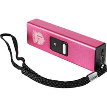 Slider 10,000,000 Volt 4.9 Milliamps Stun Gun With LED Flashlight - Pink