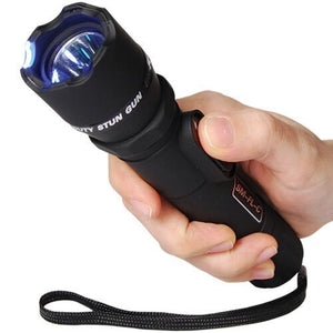 Stun Master Covert - Rechargeable 9 Million Volt Stun Gun Tactical Flashlight