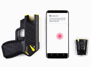 Taser Pulse PLUS With Noonlight Emergency Response App, Battery, Laser, 2 Live Cartridges