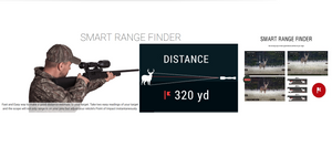 ATN THOR 4 384 Thermal Rifle Scope 1.25-5X 384x288, 5 Different Reticles, WiFi, GPS