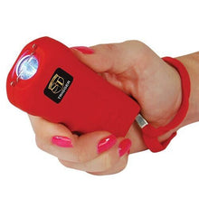 18,000,000 Trigger Stun Gun W/LED Flashlight And Holster - RED